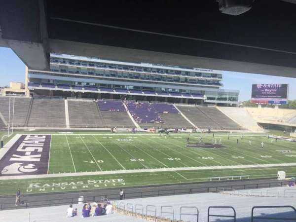 Bill Snyder Family Stadium, secção: 21, fila: 43, lugar: 11