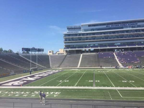 Bill Snyder Family Stadium, secção: 22, fila: 19, lugar: 6
