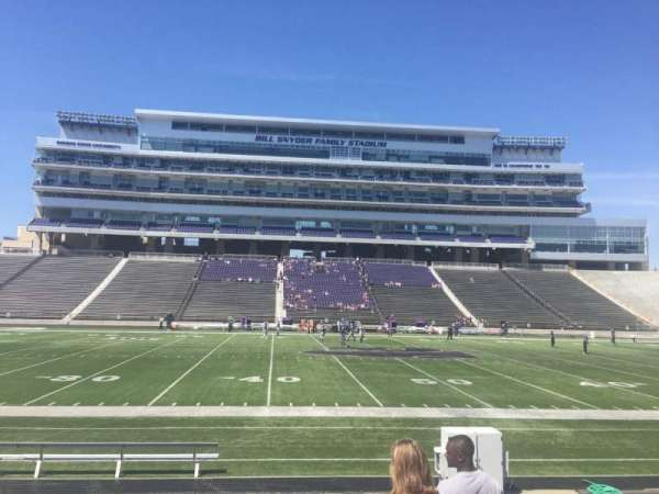 Bill Snyder Family Stadium, secção: 23, fila: 10, lugar: 2