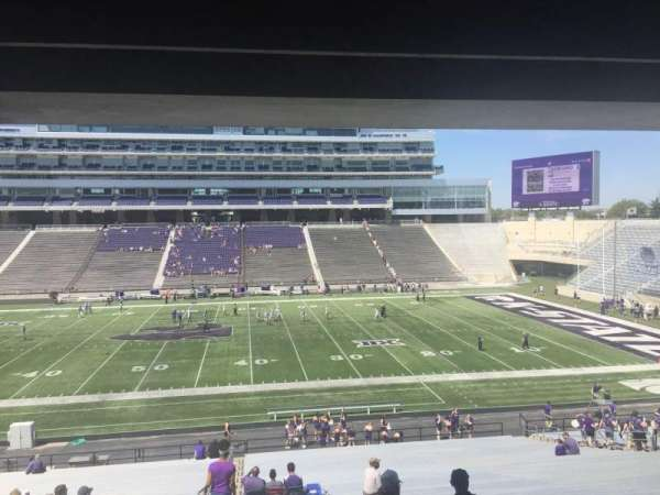 Bill Snyder Family Stadium, secção: 25, fila: 43