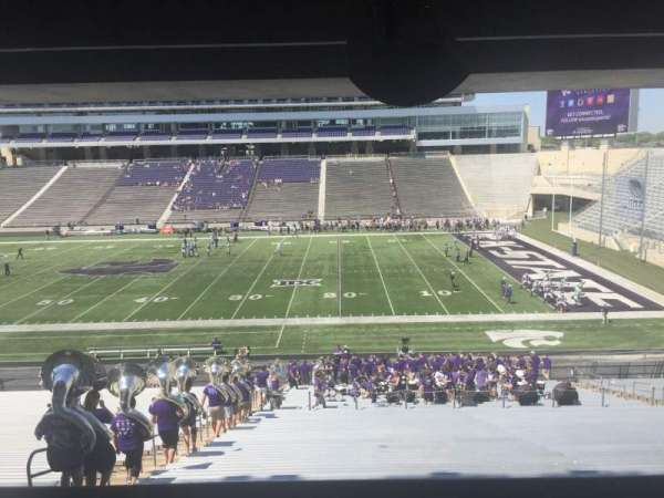 Bill Snyder Family Stadium, secção: 26, fila: 44, lugar: 5