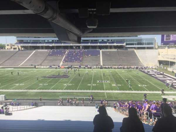 Bill Snyder Family Stadium, secção: 25, fila: 45, lugar: 23