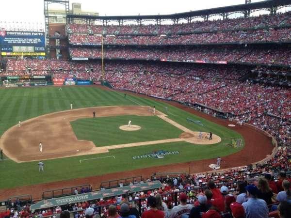 Busch Stadium, secção: 259, fila: DR, lugar: 5