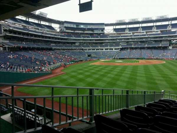 Nationals Park, secção: 139, fila: r, lugar: 4