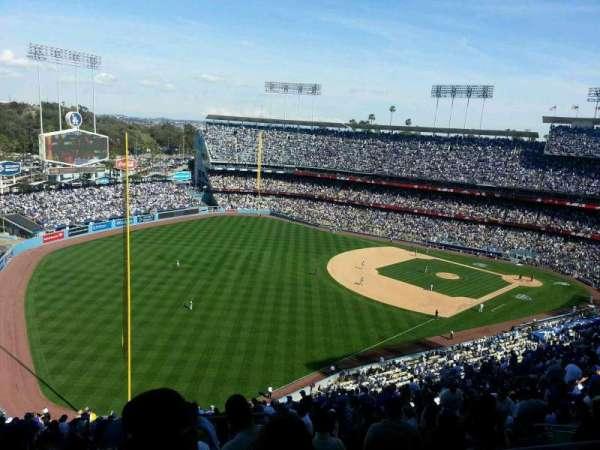 Dodger Stadium, secção: 49RS, fila: GG, lugar: 1