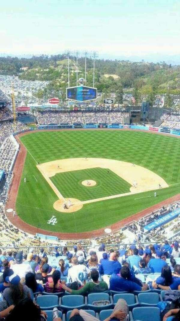 Dodger Stadium, secção: TD