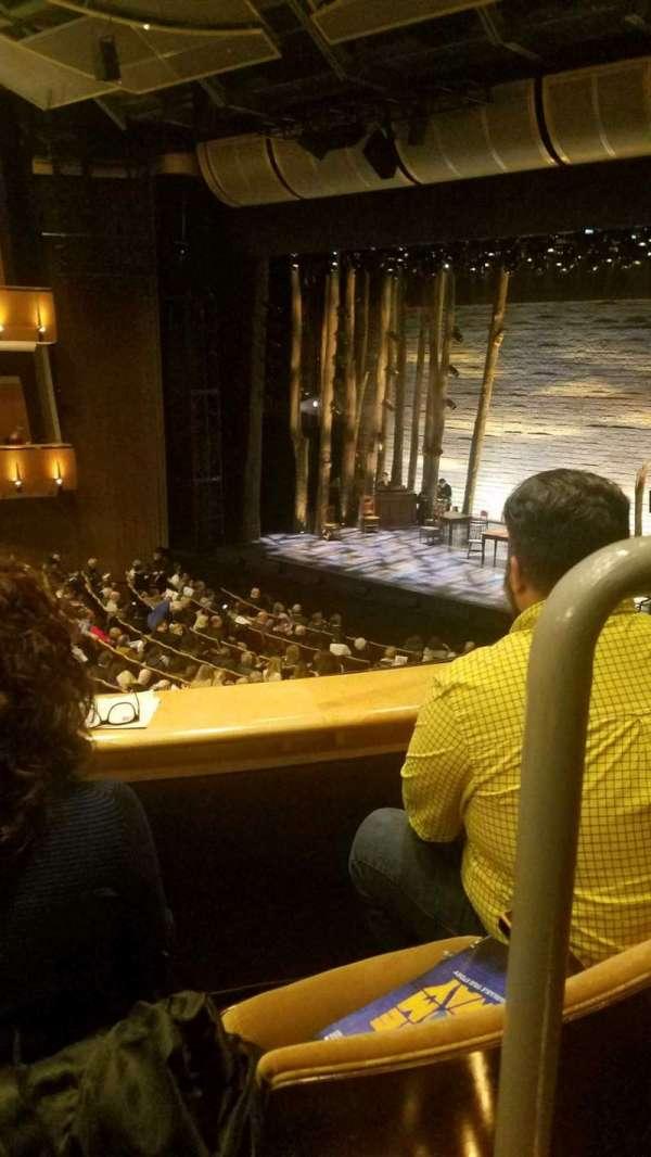 Ahmanson Theatre, secção: mezzanine, fila: b, lugar: 1