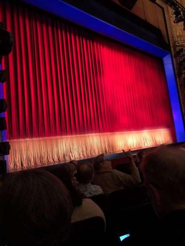 Longacre Theatre, secção: Orchestra L, fila: G, lugar: 10