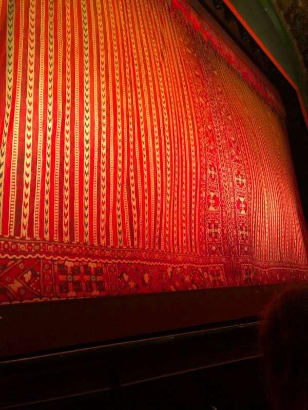 New Amsterdam Theatre, secção: Orchestra L, fila: B, lugar: 9