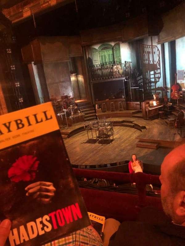Walter Kerr Theatre, secção: Mezzanine R, fila: B, lugar: 10