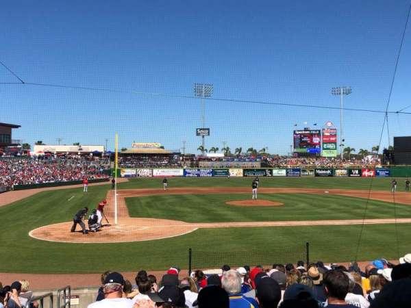 BayCare Ballpark, secção: 108, fila: 12, lugar: 16