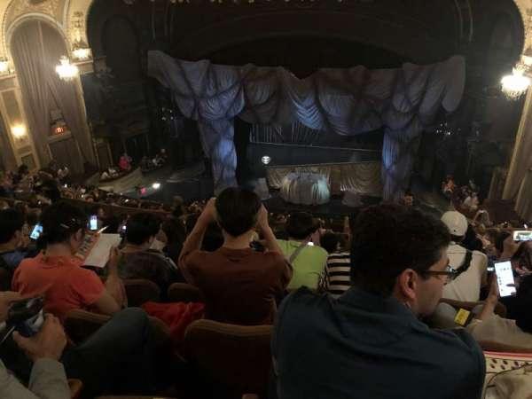 Majestic Theatre, secção: Rear Mezzanine RC, fila: K, lugar: 118-124