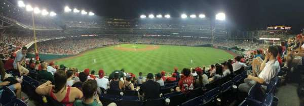 Nationals Park, secção: 243, fila: G