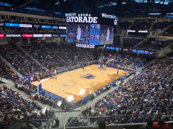 Wintrust Arena, secção: 229, fila: F, lugar: 13