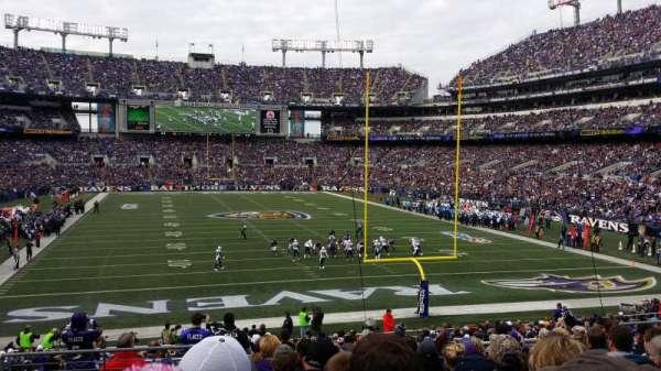 M&T Bank Stadium, secção: 114, fila: 27, lugar: 10