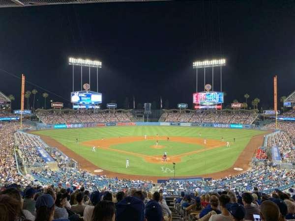 Dodger Stadium, secção: 103LG, fila: P, lugar: 1