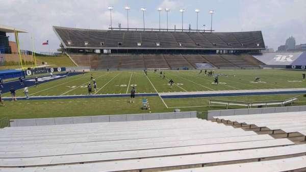 Rice Stadium, secção: 106, fila: 18, lugar: 10