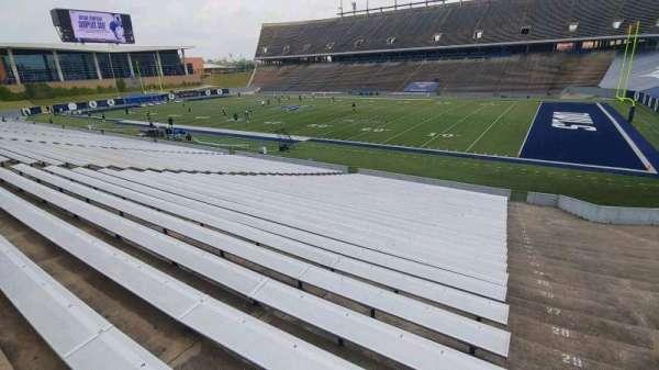 Rice Stadium, secção: 101, fila: 33, lugar: 1