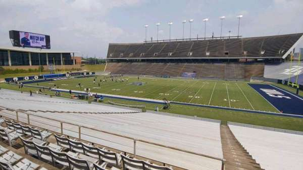 Rice Stadium, secção: 102, fila: 35, lugar: 3