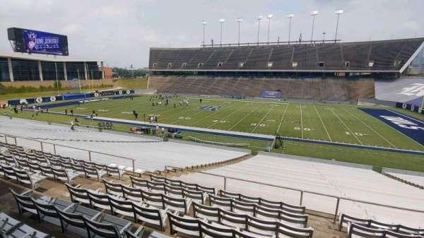 Rice Stadium, secção: 103, fila: 40, lugar: 5