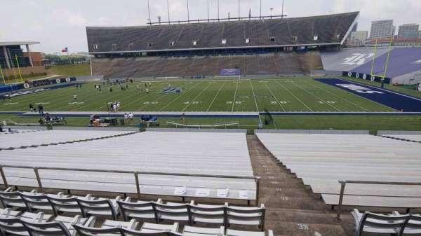 Rice Stadium, secção: 103, fila: 46, lugar: 1