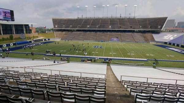 Rice Stadium, secção: 104, fila: 41, lugar: 1