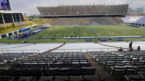Rice Stadium, secção: 105, fila: 43, lugar: 1