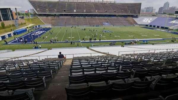 Rice Stadium, secção: 106, fila: 44, lugar: 8