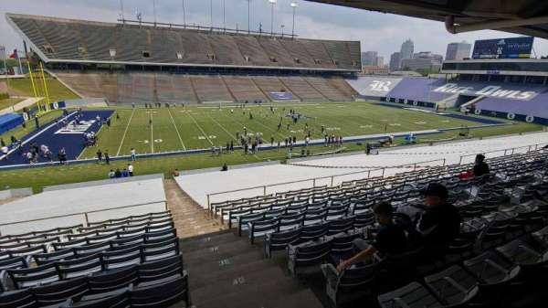 Rice Stadium, secção: 107, fila: 44, lugar: 1