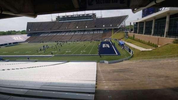 Rice Stadium, secção: 110, fila: 44, lugar: 1