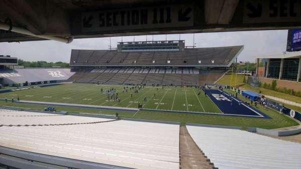 Rice Stadium, secção: 111, fila: 44, lugar: 1