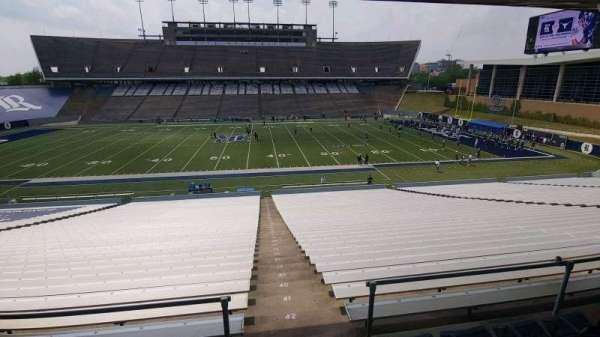 Rice Stadium, secção: 113, fila: 44, lugar: 1
