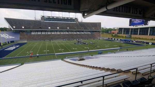 Rice Stadium, secção: 115, fila: 46, lugar: 5