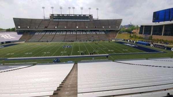 Rice Stadium, secção: 112, fila: 46, lugar: 20
