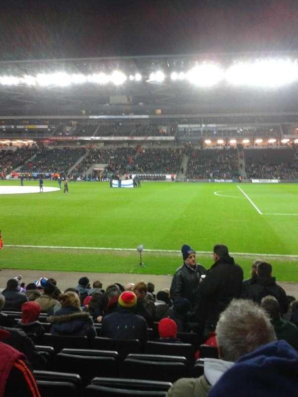 Stadium MK, secção: 1, fila: l, lugar: 36