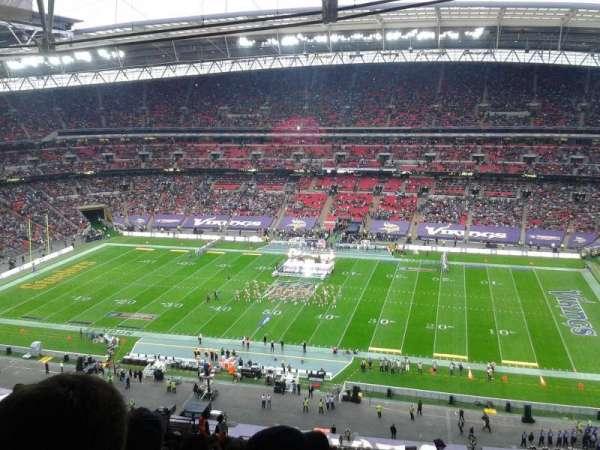 Wembley Stadium, secção: 524, fila: 25, lugar: 333