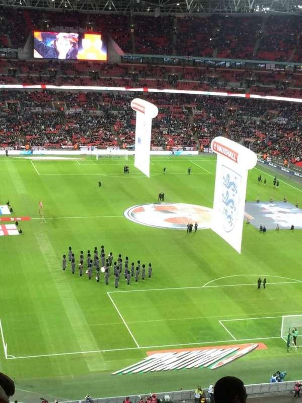 Wembley Stadium, secção: 542, fila: 19, lugar: 80