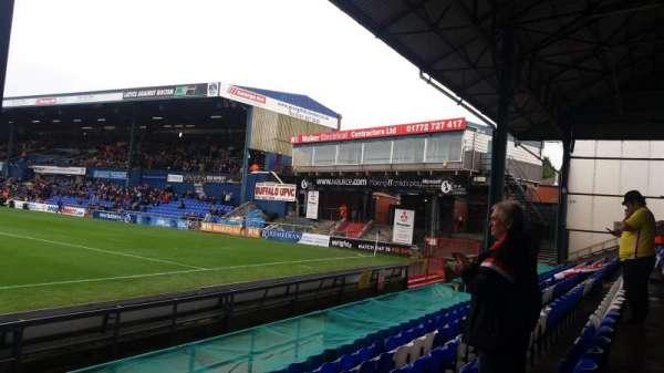 Boundary Park, secção: Oldham Athletic, fila: D, lugar: 75