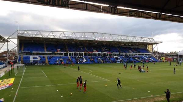 London Road Stadium, secção: Main Stand, fila: N