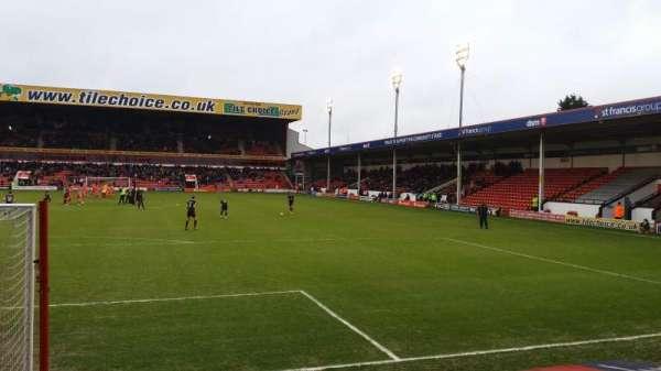 Bescot Stadium, secção: Away End