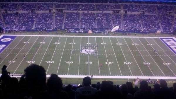 Lucas Oil Stadium, secção: 640, fila: 14, lugar: 15