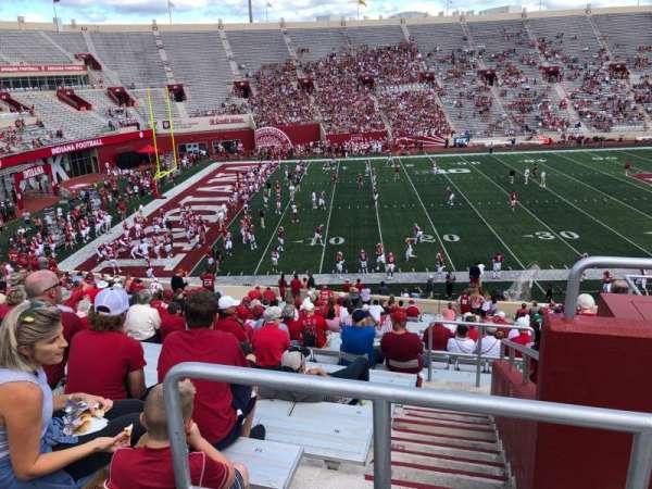 Memorial Stadium (Indiana), secção: 9, fila: 41, lugar: 103