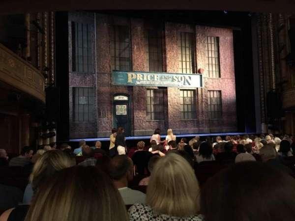 Al Hirschfeld Theatre, secção: ORCHL, fila: P, lugar: 5