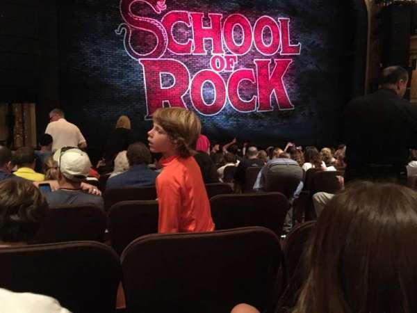 Winter Garden Theatre, secção: ORCH, fila: M, lugar: 5