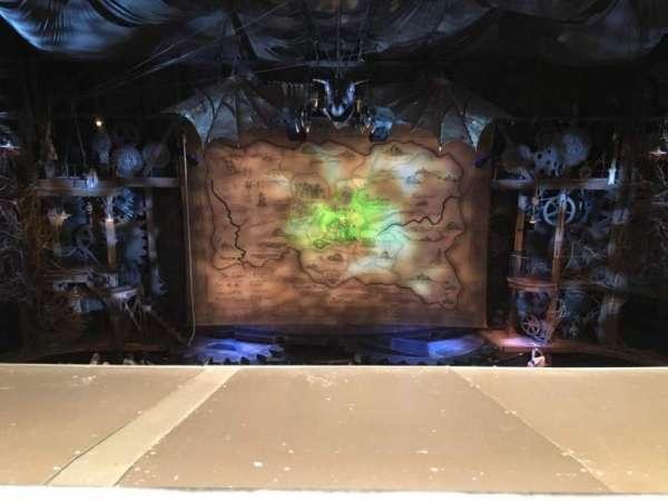 Gershwin Theatre, secção: FMEZZ, fila: A, lugar: 109