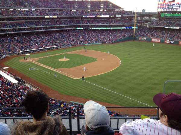 Citizens Bank Park, secção: 310, fila: 3, lugar: 1