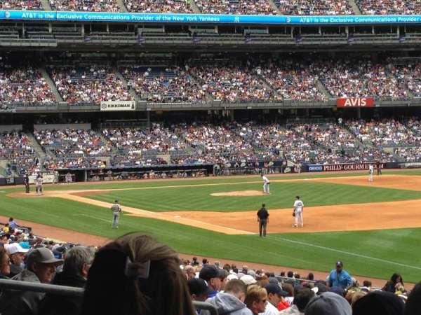 Yankee Stadium, secção: 110