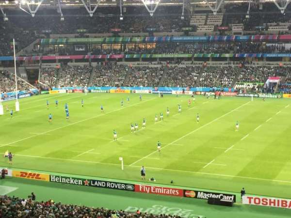 London Stadium, secção: 238, fila: 54, lugar: 355