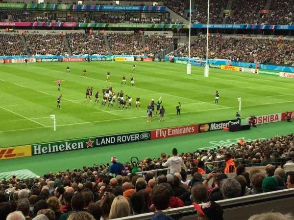 London Stadium, secção: 234, fila: 35, lugar: 486