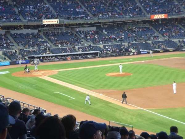 Yankee Stadium, secção: 211, fila: 17, lugar: 2